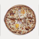 Pizza de <span class='text-primary'>Jamón Asado</span>