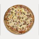 Pizza de <span class='text-primary'>Champiñones</span>